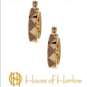 House of Harlow 1960 Zig Zag Earring